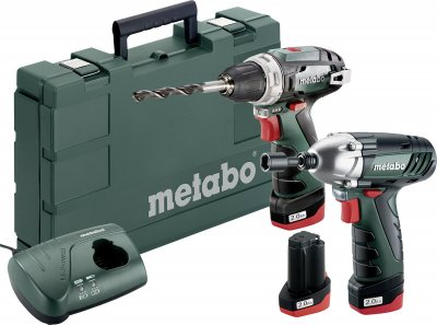 Metabo SLQ PowerMaxx BS Basic Set aku + lampa